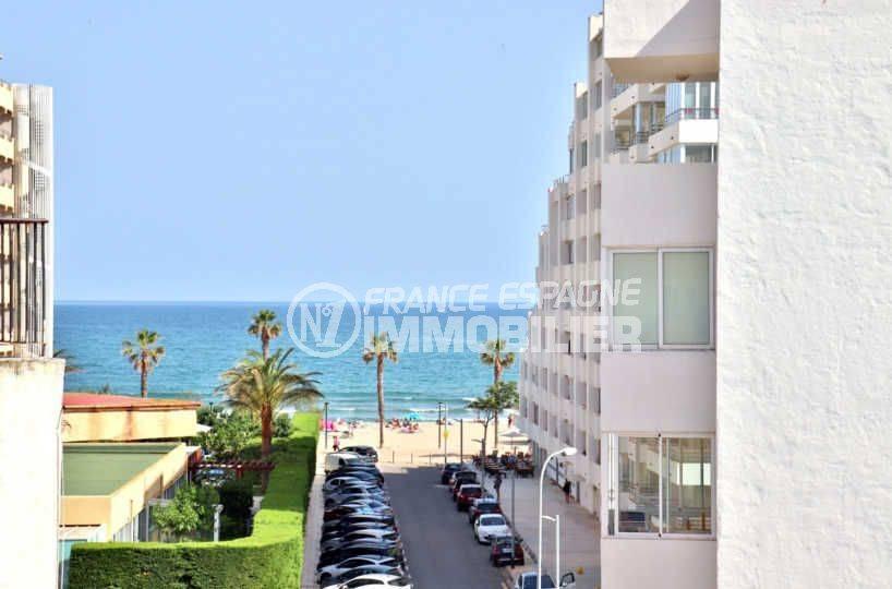 agence immobilière costa brava: appartement ref.3804, vue sur la mer depuis la chambre