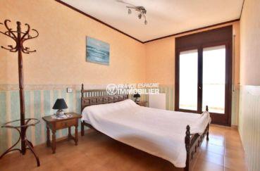 appartement a vendre a rosas, ref.3774, chambre partentale avec vue mer