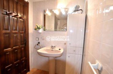 appartement rosas vente, ref.3774, salle de bains de la suite parentale