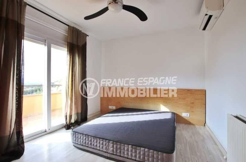 vente immobilier costa brava: ref.3795, deuxième chambre avec lit double accès terrasse