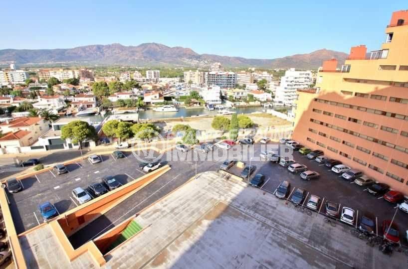 immo espagne costa brava: appartement ref.3781, également vue sur le canal, la ville et la montagne