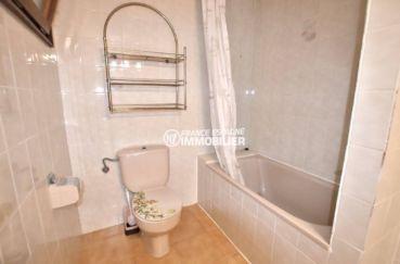 vente appartement rosas espagne, ref.3774, salle de bains de la suite parentale avec toilettes