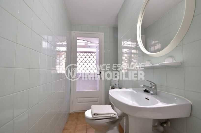 empuriabrava immobilier: appartement ref.3789, seconde salle d'eau avec toilettes