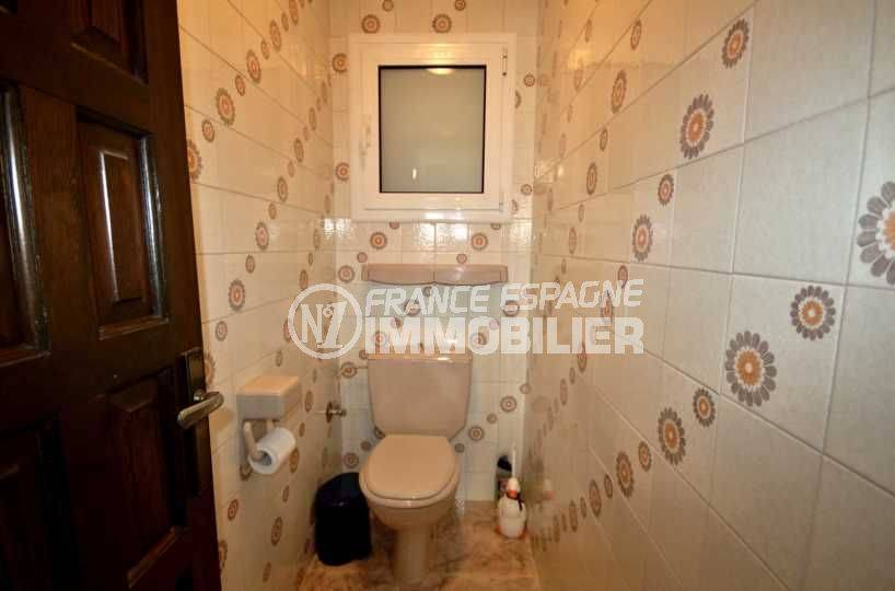 achat maison costa brava, secteur prisé empuriabrava, wc indépendant