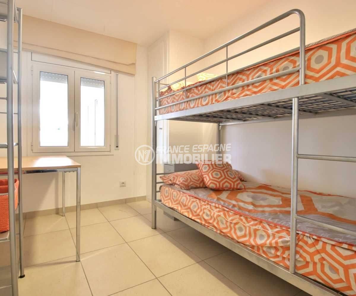 vente immobiliere costa brava: villa ref.3796, chambre 3 avec lits superposés et bureau