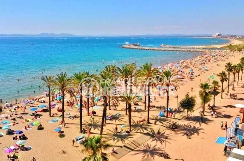 la costa brava: villa ref.3143, aperçu de la plage santa margarita à proximité