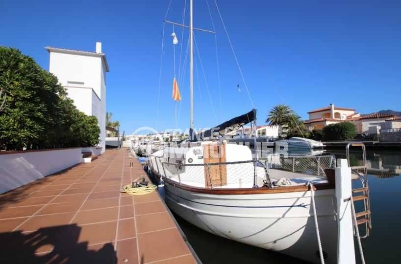 la costa brava: villa ref.3796, accès à l'amarre par une rampe privée
