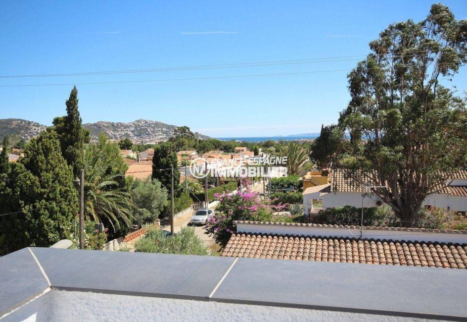 achat maison rosas espagne, ref.3463, vue mer et aperçu du Puig Rom