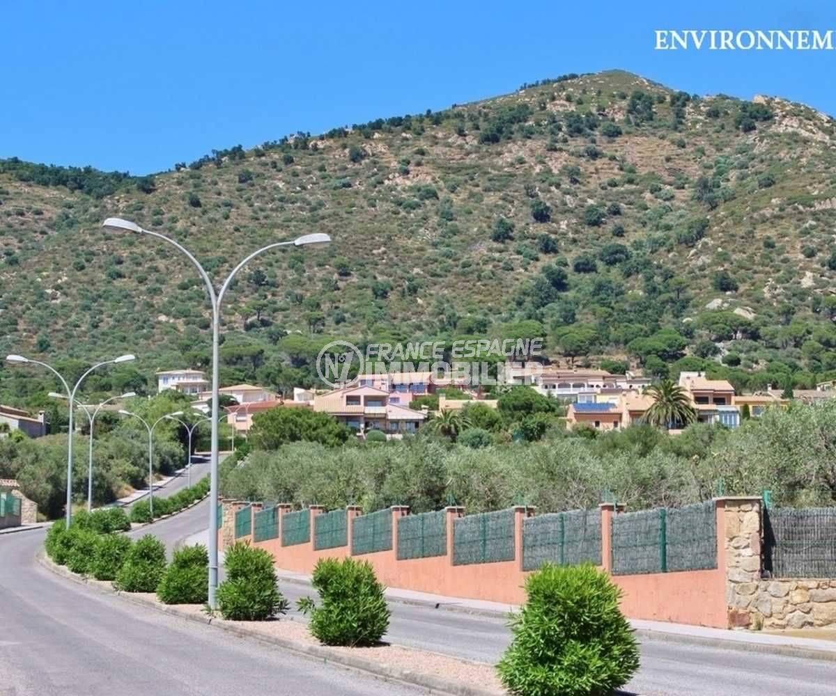 vente immobiliere costa brava: villa ref.3795, vue sur les montagnes environnantes