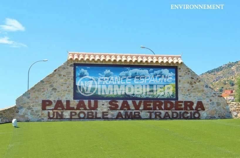 vente immobilière costa brava: villa ref.3795, aperçu de l'entrée de la ville de palau