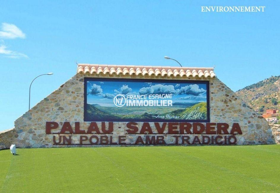 maison a vendre costa brava espagne, ref.3801, entrée du village de Palau