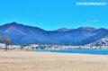 près du port de pêche, la playa la punta (550 mètres de long)
