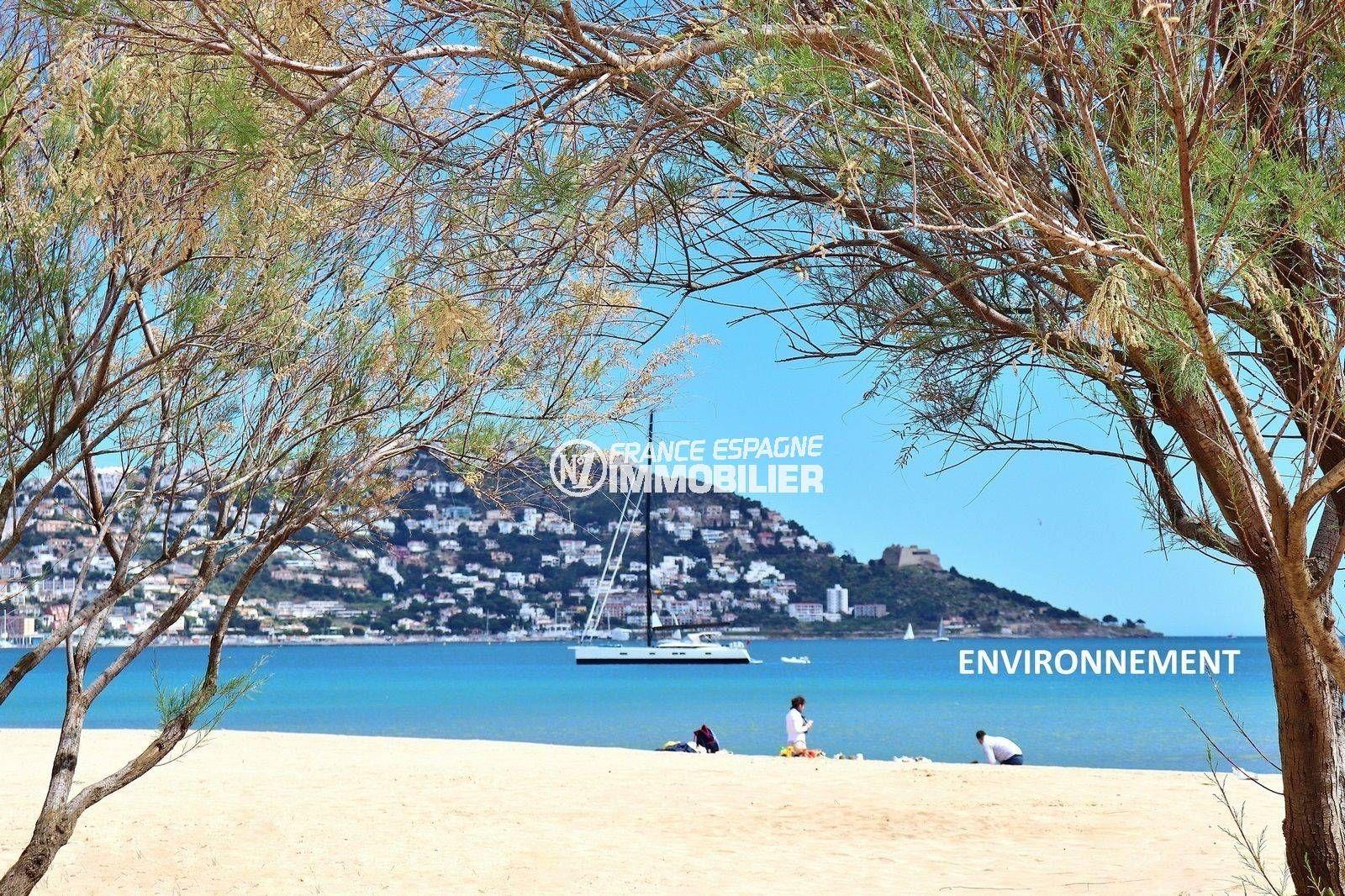 le bon coin espagne costa brava: superbe villa plage de rosas à proximité