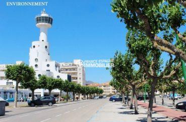 vente immobiliere costa brava: appartement ref.3784, promenade de la plage