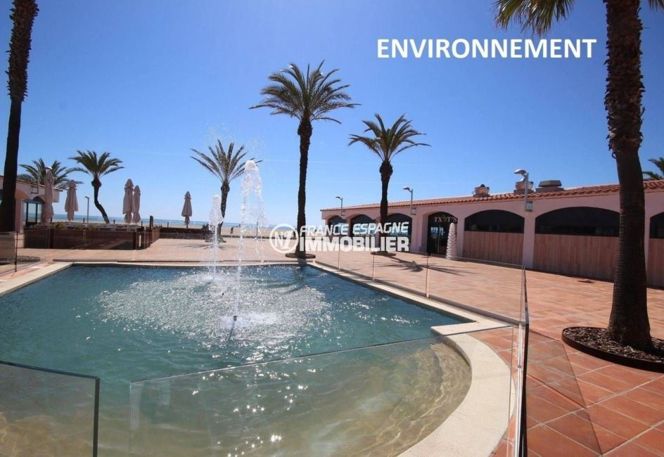 vente immobilier costa brava: appartement ref.3784, fontaine et restaurant proches plage