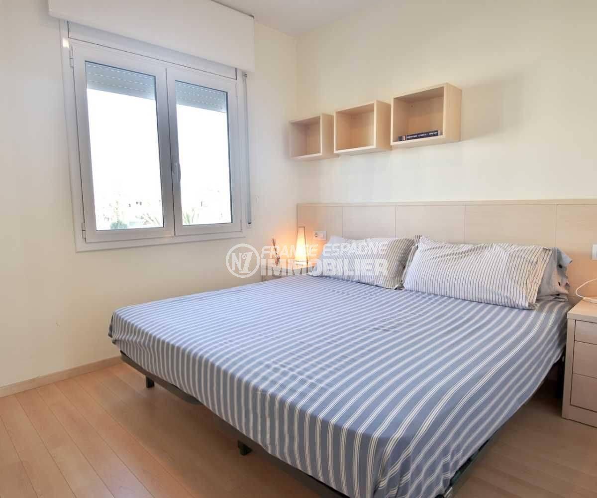 immobilier costa brava bord de mer: ref.3796, chambre 2 un lit double étage indépendant