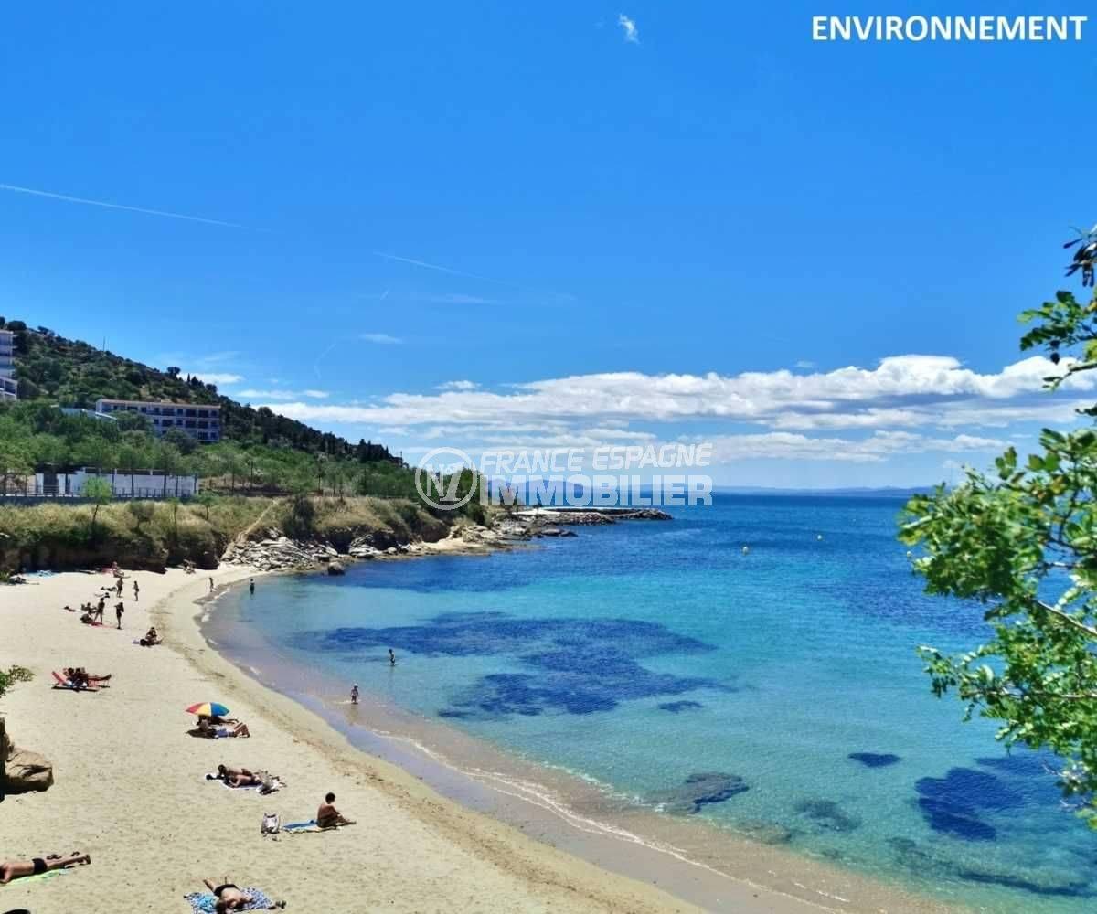la costa brava: villa ref.3773, une plage de roses aux alentours