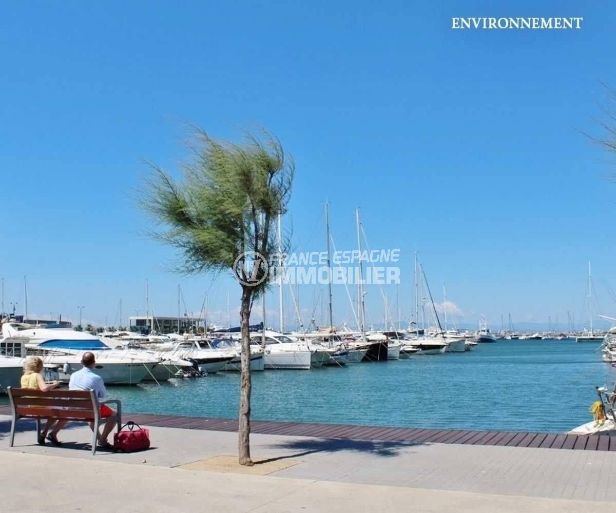 immo center rosas: villa ref.3773, aperçu du port de rosas aux alentours