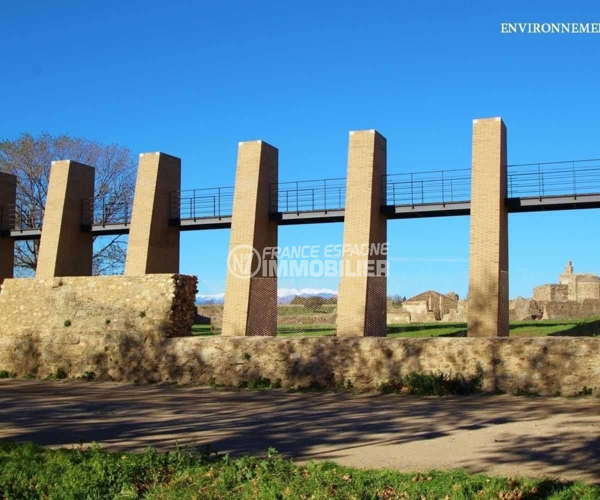 habitaclia rosas: villa ref.3803, citadelle historique dans les environs
