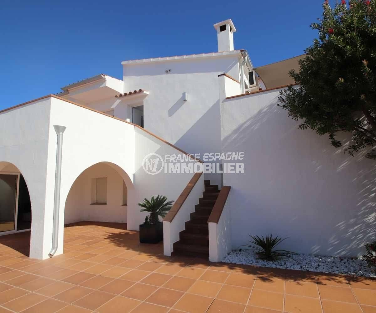 vente immobilier rosas espagne: ref.3796, escalier qui donne sur l'étage indépendant