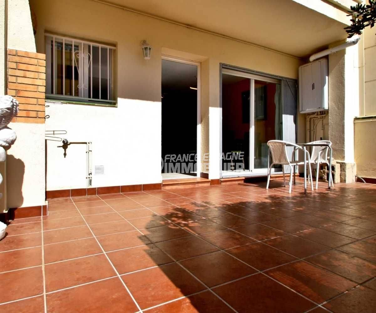 Terrasse villa rénovée empuriabrava
