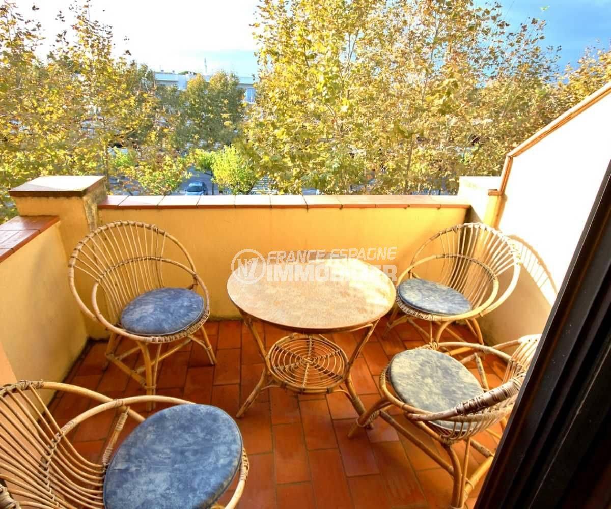 terrasse appartement empuriabrava