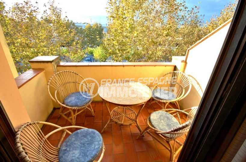terrasse appartement empuriabrava