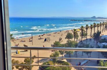 appartement santa margarida, ref.3839, terrasse vue mer, parking, plage et commerces à 50 m