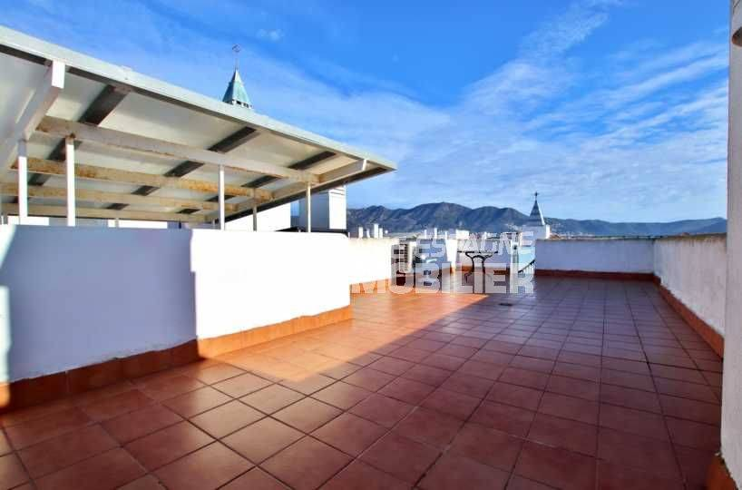 Terrasse solarium, Appartement atico Santa Margarida