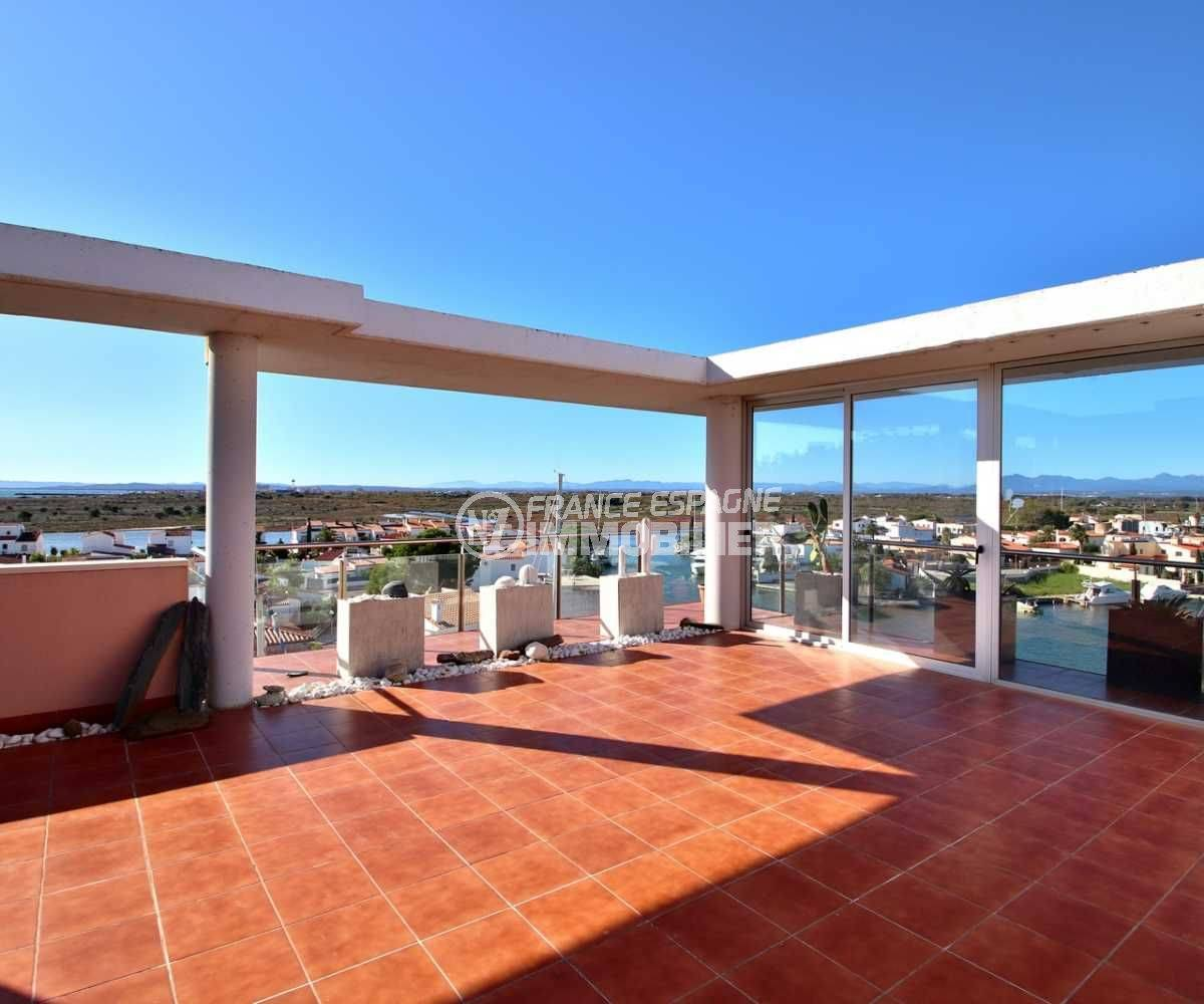 immobilier costa brava: appartement ref.3812, seconde terrasse solarium de 78 m²