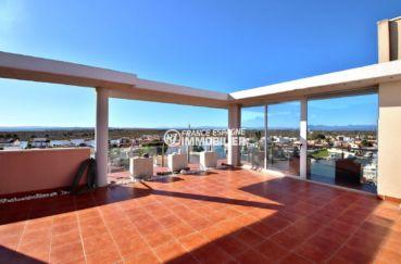 immobilier costa brava: appartement ref.3812, seconde terrasse solarium de 78 m²