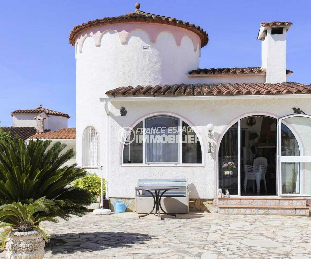 immobilier empuria brava: ref.3833, villa de 90 m² avec un terrain de 330 m²