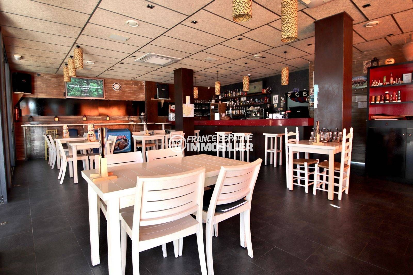 vente immobilier costa brava: bar restaurant ref.3816, 66 couverts