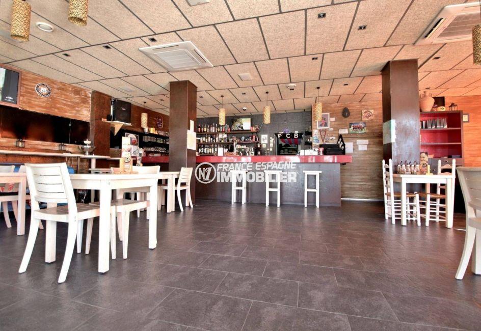 vente immobiliere costa brava: bar restaurant ref.3816, grande salle 66 couverts