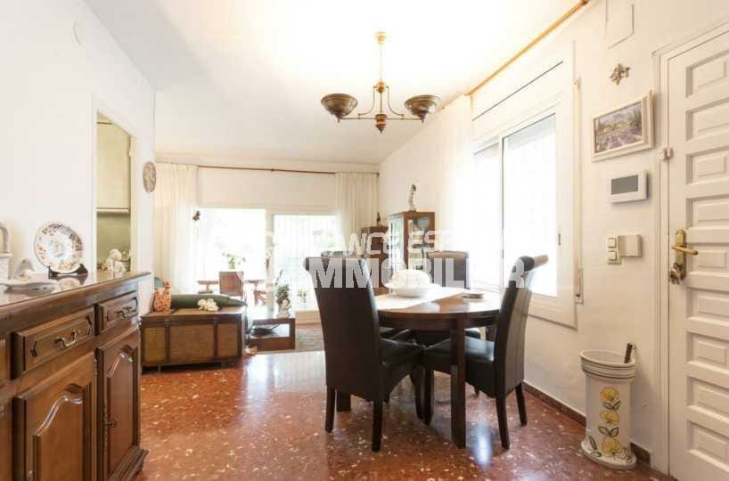 immobilier costa brava: villa ref.3828, aperçu du séjour / salle à manger