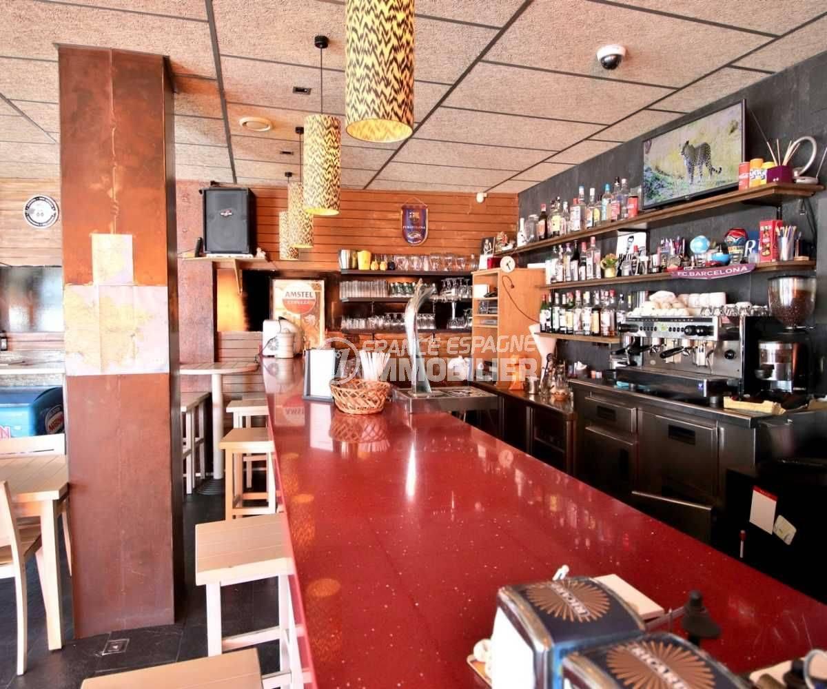 costabrava immo: bar restaurant ref.3816, aperçu du bar, tout équi^é