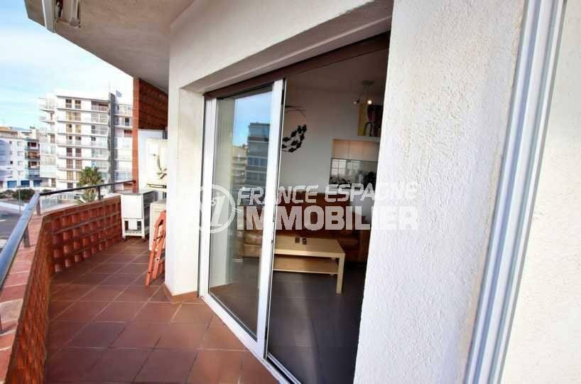 appartements a vendre a rosas, ref.3839, grand terrasse avec accès au salon