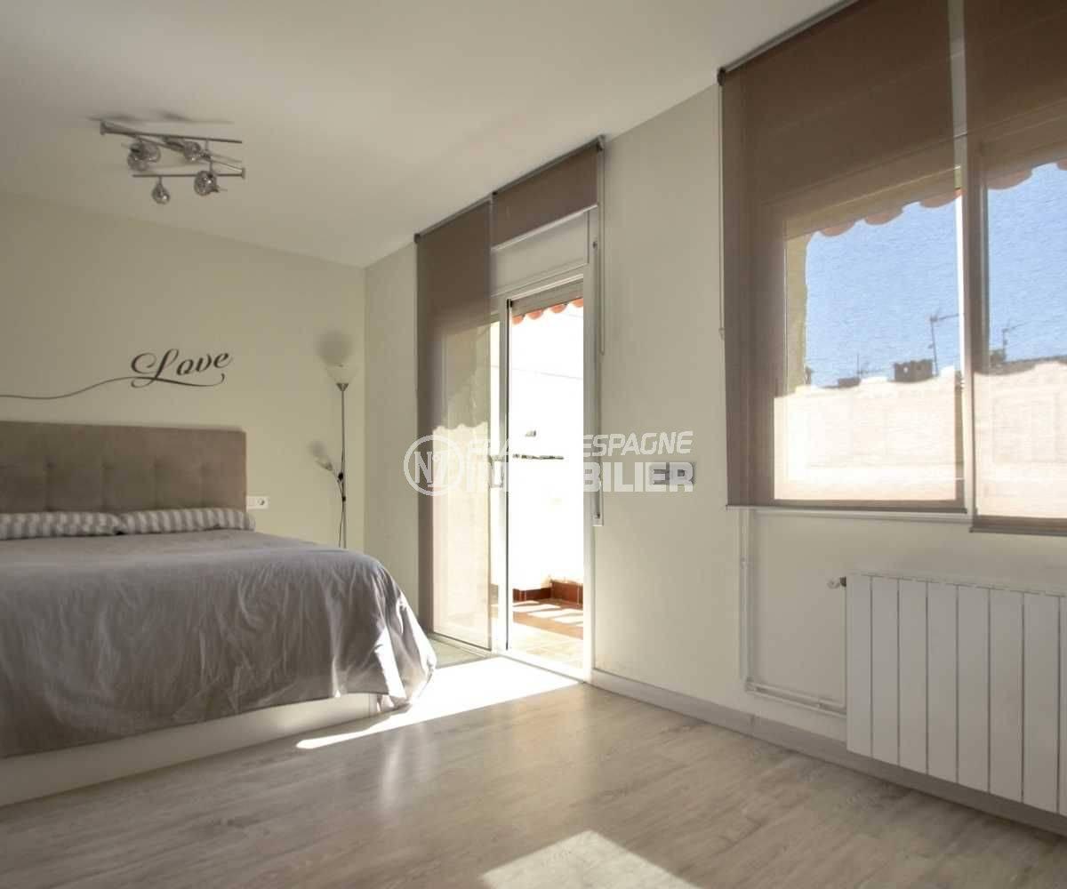 empuriabrava immobilier: villa ref.3808, chambre 1 avec accès terrasse