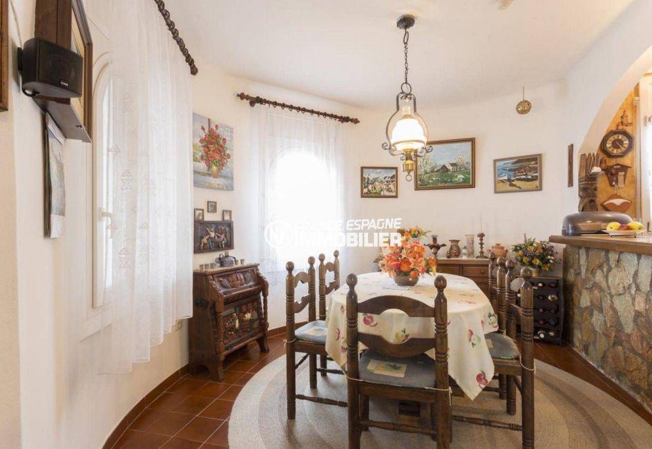 vente maison empuriabrava, ref.3833, salle à manger avec cuisine ouverte