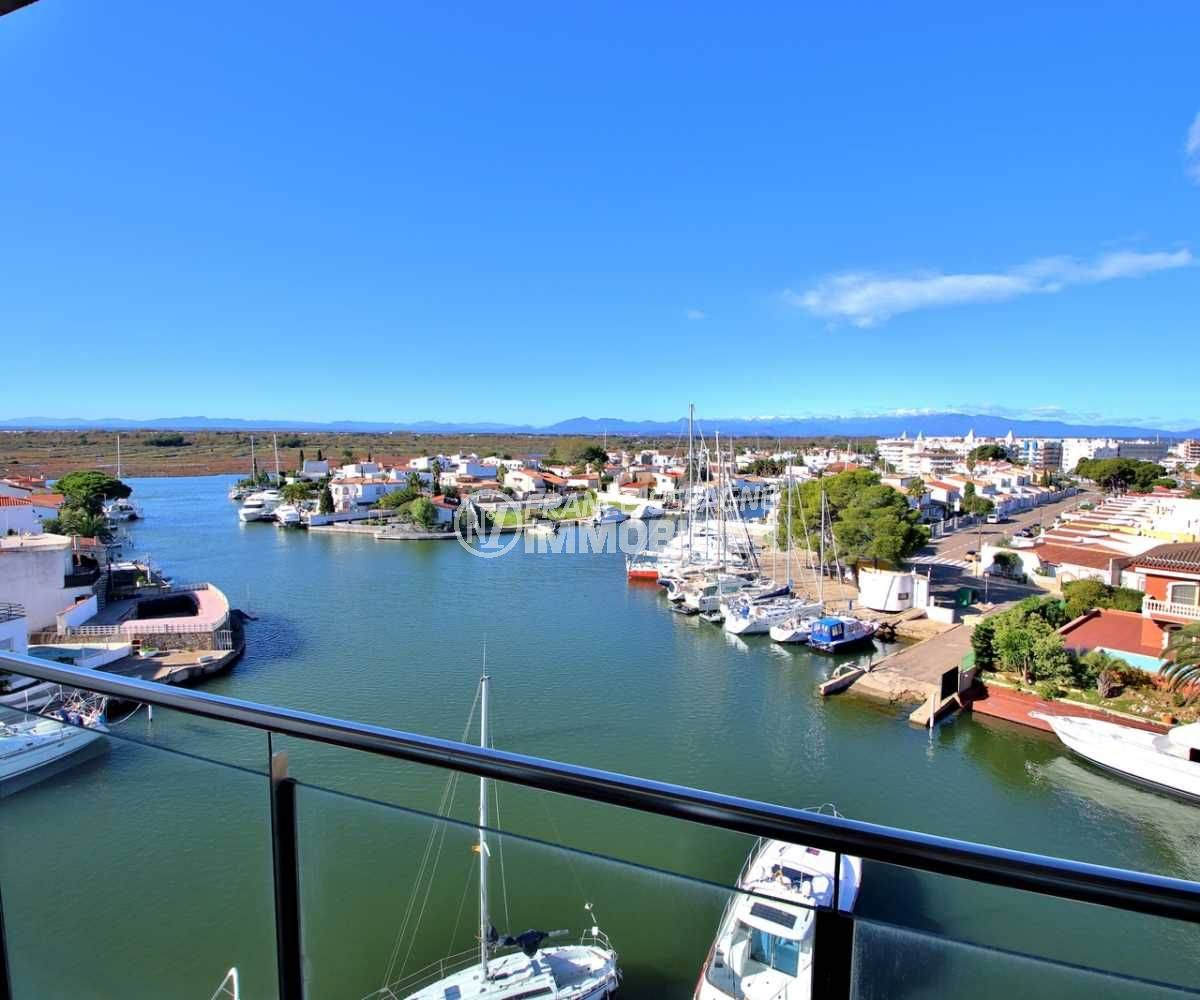 immo roses espagne: appartement ref.3812, vue panoramique depuis la première terrasse
