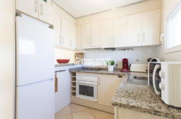 maison à vendre empuriabrava, ref.3834, cuisine équipée avec des rangements