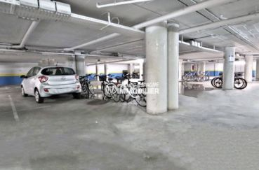 achat appartement rosas, ref.3813, place de parking privé en sous-sol
