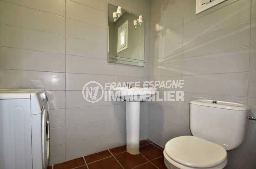 agences immobilieres empuriabrava: villa ref.3808, wc indépendant avec lavabo
