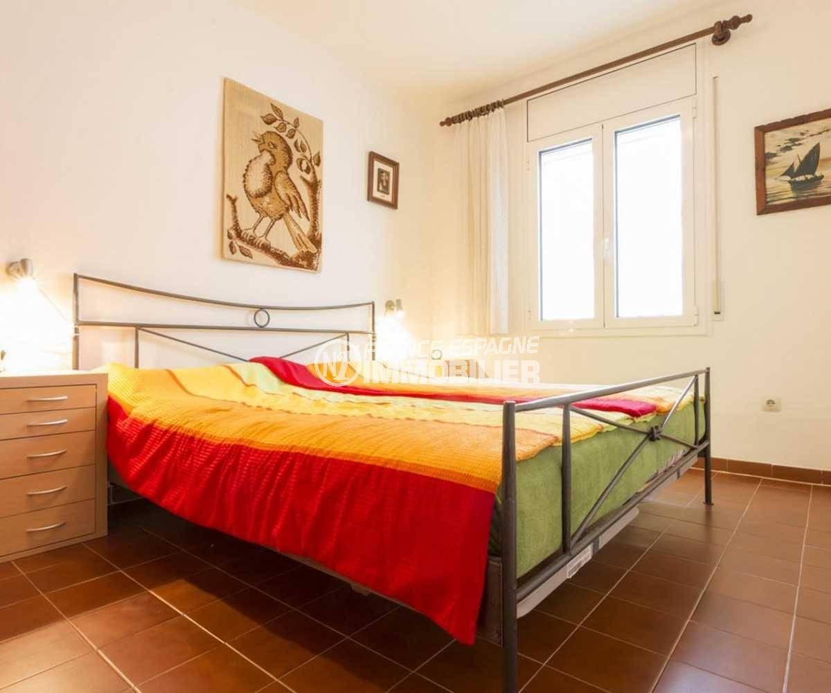 agence immobilière costa brava: villa ref.3833, deuxième chambre avec un lit double