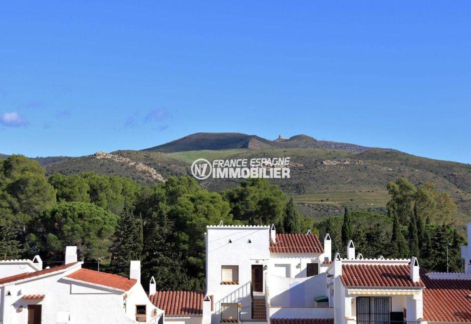 vente maison rosas espagne, ref.3815, vue sur la montagne depuis le balcon