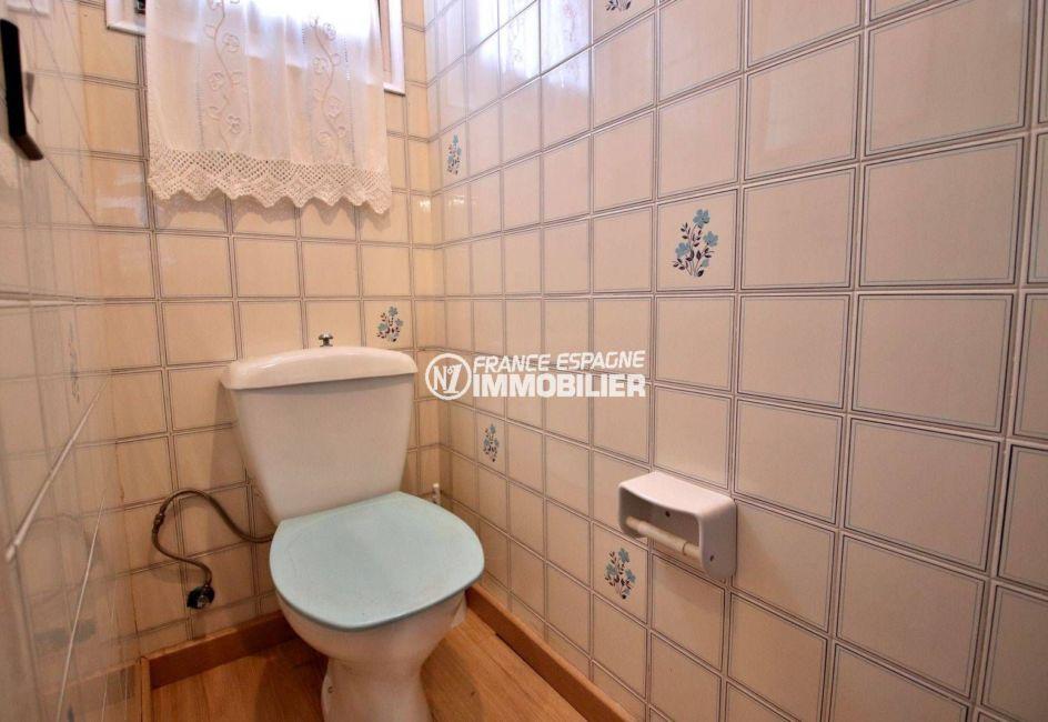 maison a vendre espagne rosas, ref.3815, toilettes indépendantes au rez-de-chaussée