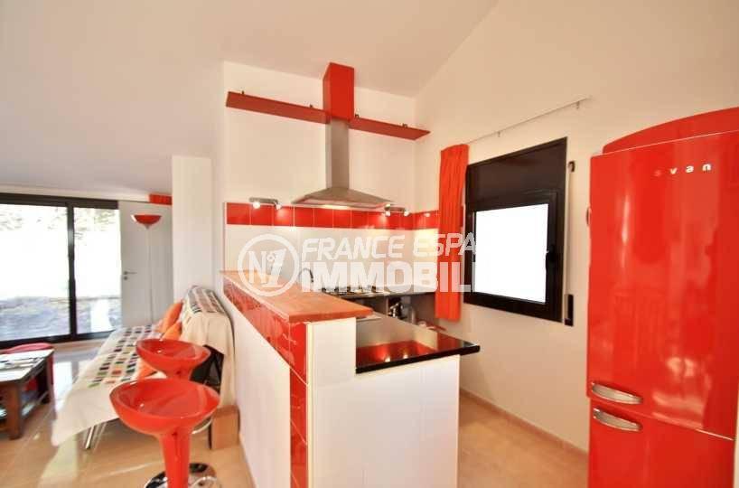 appartement costa brava a vendre, ref.3823, coin cuisine aménagé et équipé