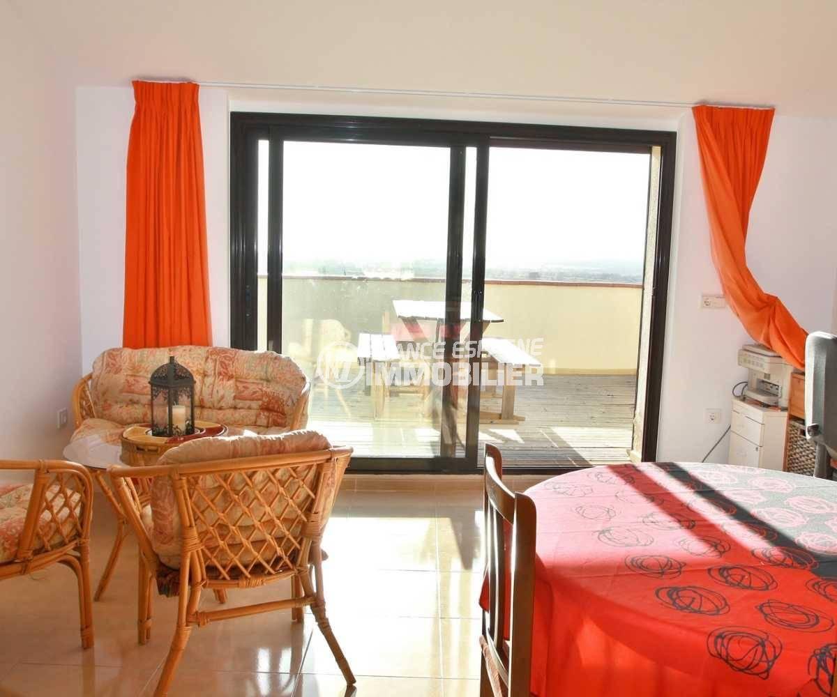 vente immobilier espagne costa brava: ref.3823, espace détente et repas accès terrasse