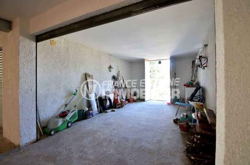 la costa brava: villa ref.3815, aperçu garage privé 20 m²