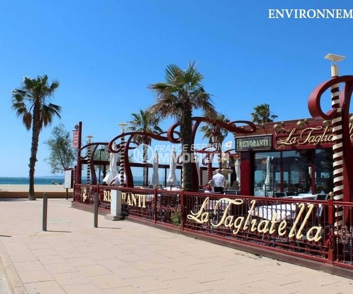 la costa brava: appartement ref.3810, terrasse de restaurant proche plage aux alentours